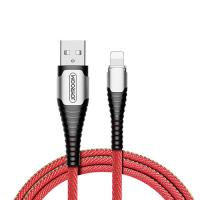 Дата-кабель Joyroom S-M367 LED 2,4A data cable Lightning